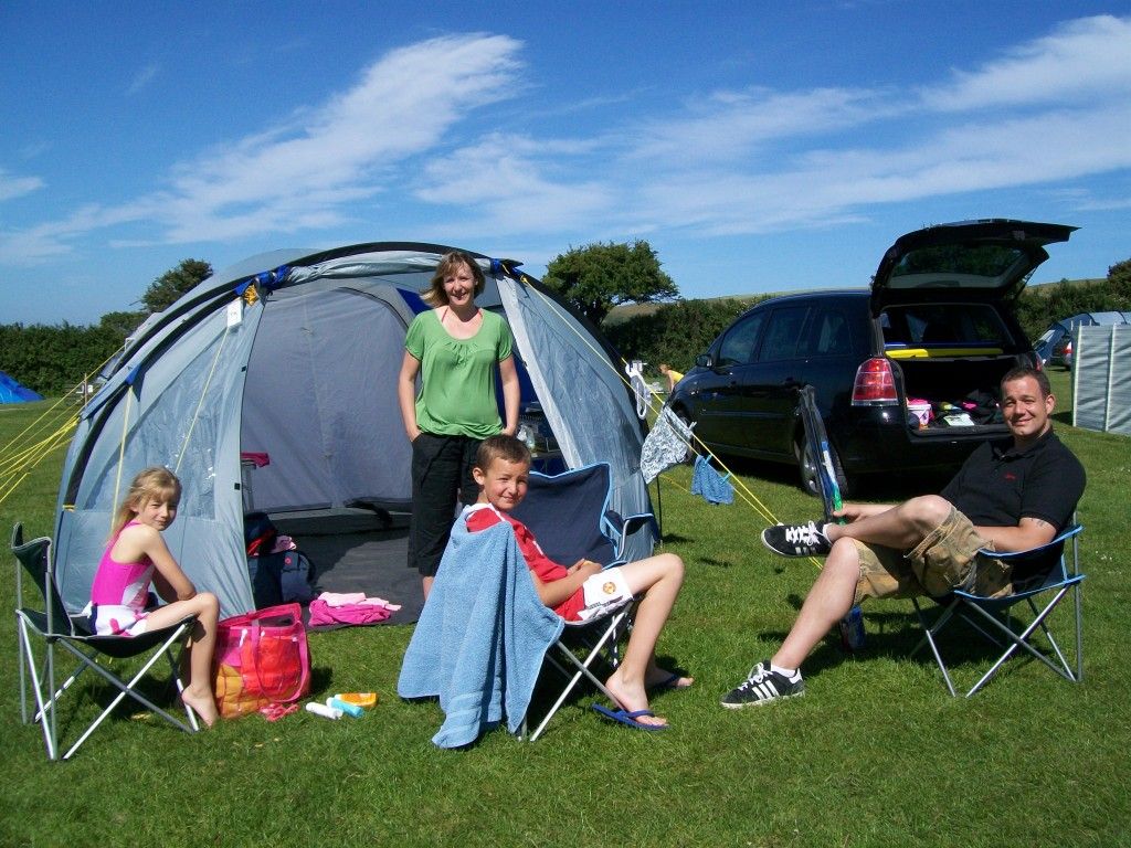 Family time - Lobb Fields, Braunton, North Devon - 01271 812090