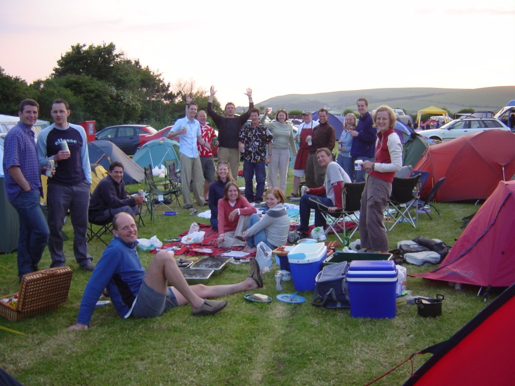 Family camping - Lobb Fields, Braunton, North Devon - 01271 812090
