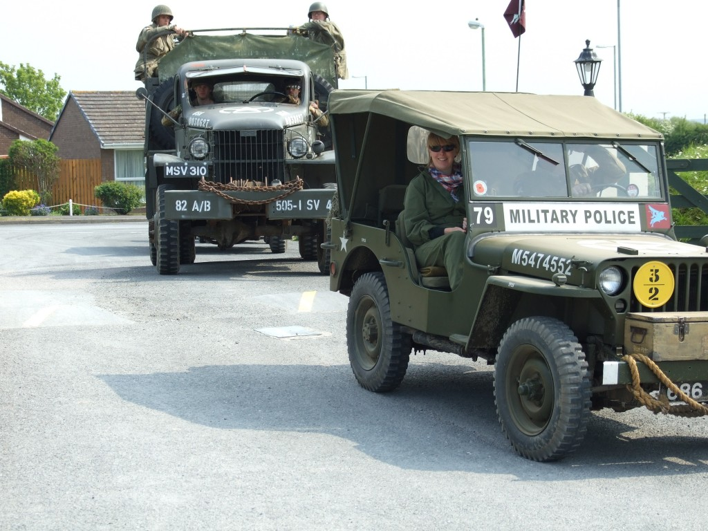 Military vehicles - Lobb Fields, Braunton, North Devon - 01271 812090
