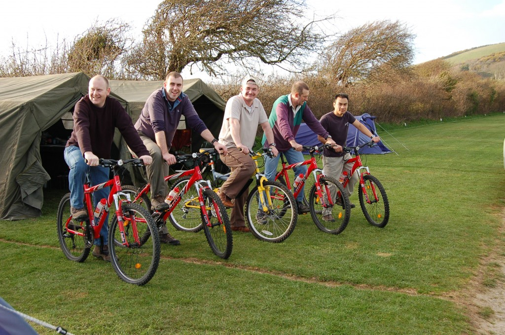 Cycling breaks - Lobb Fields, Braunton, North Devon - 01271 812090