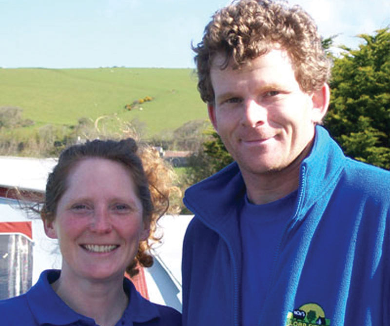 Wardens - Tim and Selena | Lobb Fields Camping and Caravan Park