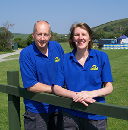 Park Managers - Tony and Dawn