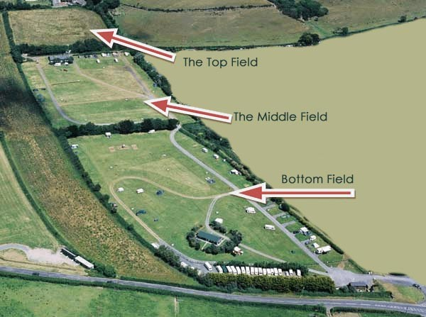 Site Map - Lobb Fields, North Devon