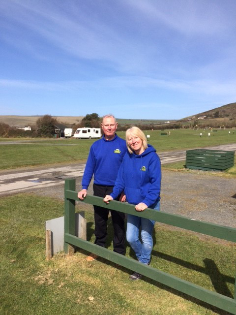 Wardens Simon and Jan | Lobb Fields Caravan and Camping Park
