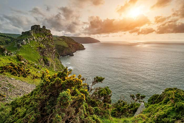 Valley of the Rocks - 7 Wonders of North Devon
