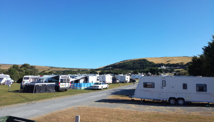 A sunny summer day | Lobb Fields Caravan and Camping Park | North Devon