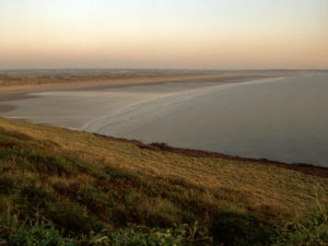 Saunton Sands from Braunton Burrows